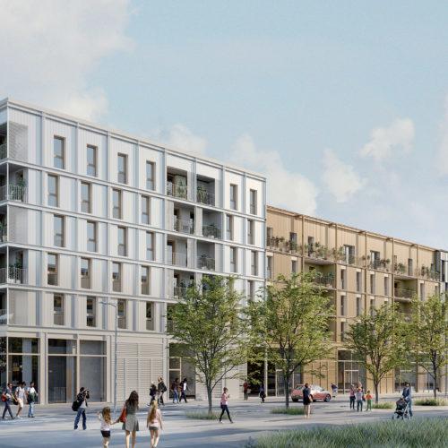 BUS - Ensemble de logements, commerces et parkings
